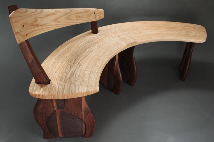 17 best images about curved benches on pinterest bay for Furniture for curved wall in foyer