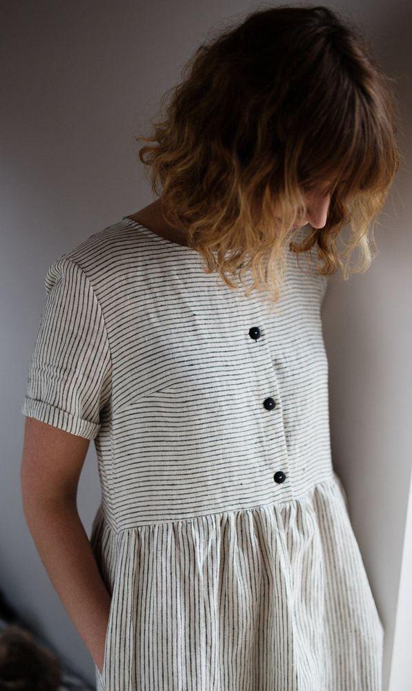 2017 Summer Dresses Beautifully simple nautical summer dress by OFFON...