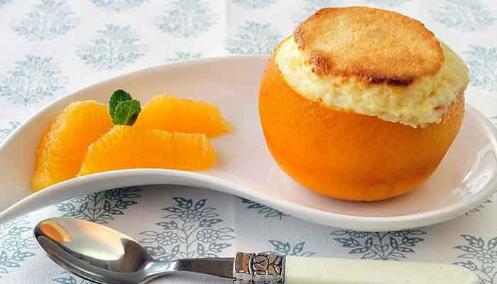 Суфле из апельсинов