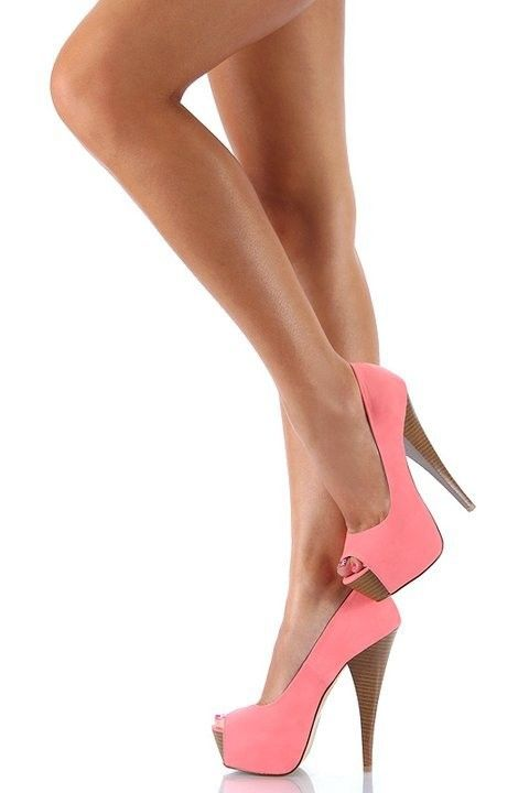 Pink pumps; perfect for Spring