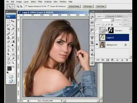 Hogyan készítsünk sötét hajból szőkét Adobe Photoshopban?