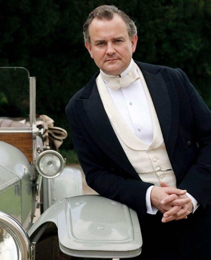 Hugh Bonneville dans le rôle de Robert Crawley dans la saison 1 de « Downton Abbey »