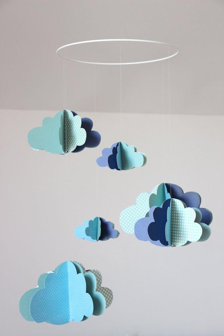 tuto origami nuage. Black Bedroom Furniture Sets. Home Design Ideas
