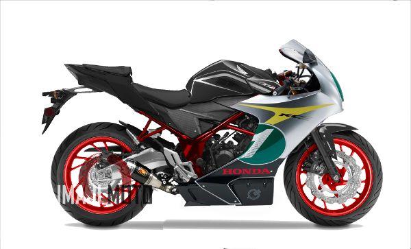 Modifikasi Honda CB150R Ala Sport Bike Honda RC-E