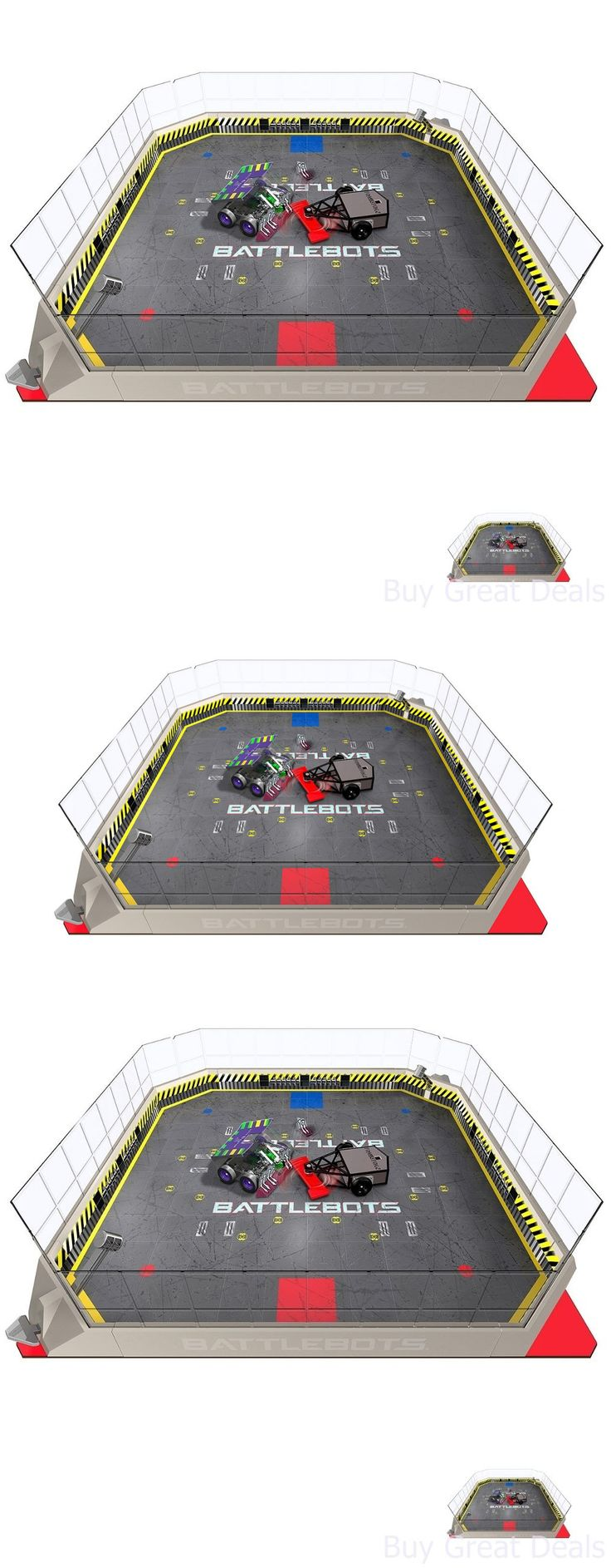 Micropets 52341: Hexbug Battlebots Arena Playset, Fold Out Game Board Remote Control Ir Play Set -> BUY IT NOW ONLY: $108.64 on eBay!