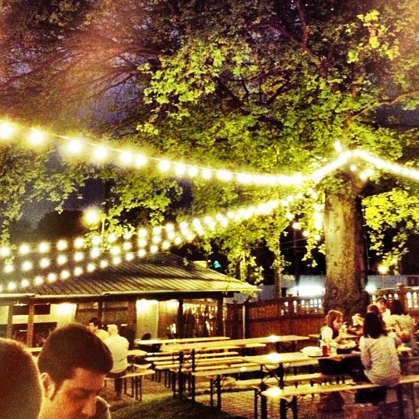17 best images about german beer garden on pinterest - The pharmacy burger parlor beer garden ...