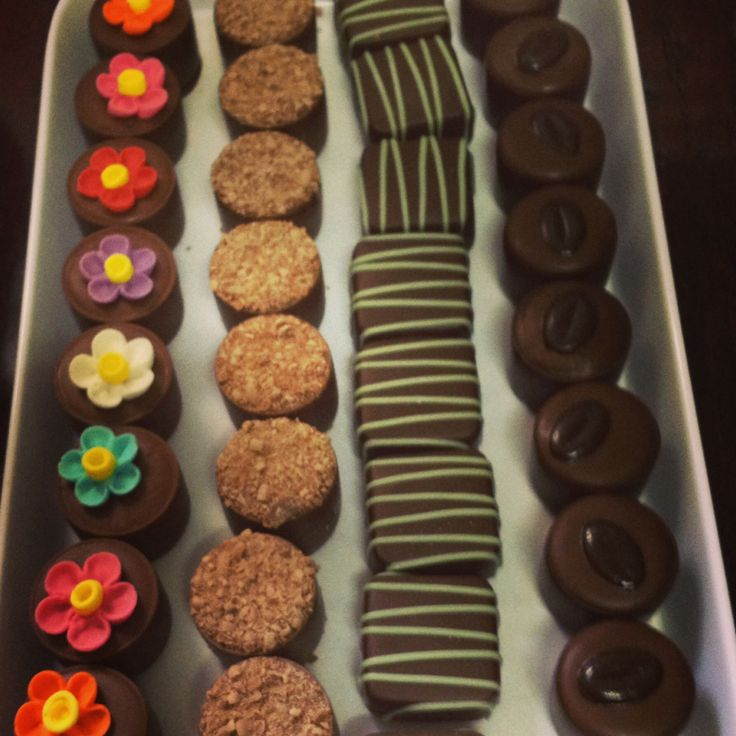 Individual chocolates now in store! Yummy!!