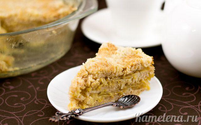 Простой яблочный пирог — 10 шаг