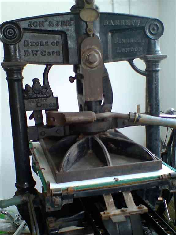 Albion Printing Press made in 1841