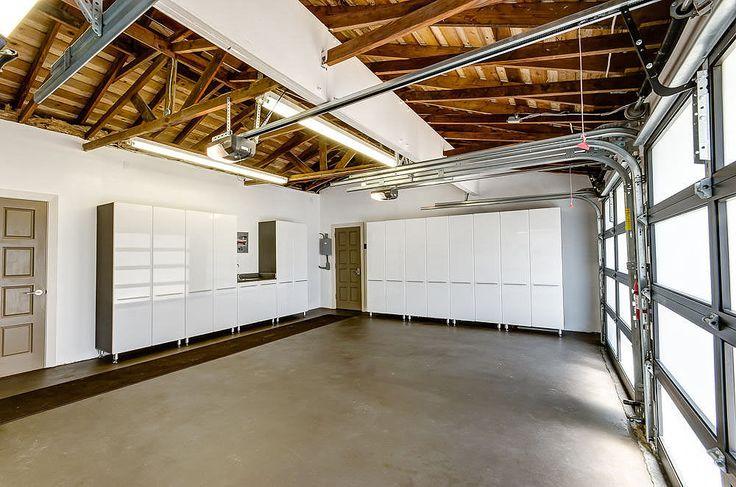 42 best starfire white storage cabinets images on for Piece auto garage