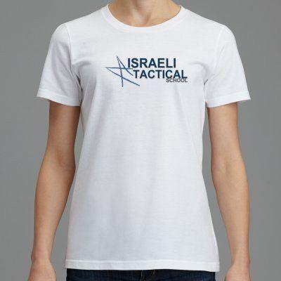 Women - Short Sleve T-Shirt Israeli Tactical Scool