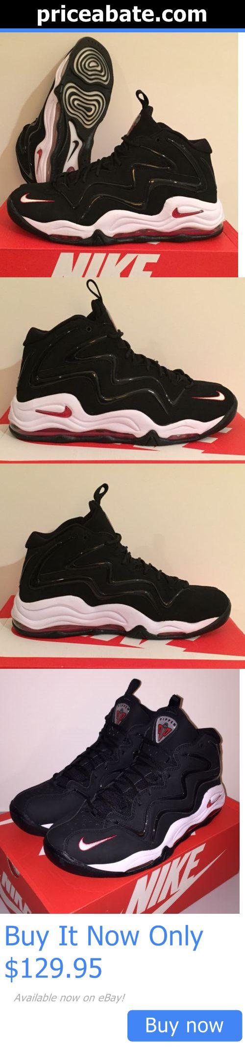 Basketball: Nike Air Pippen 1 Basketball Shoes Bulls Black White Red 14 Nib  BUY IT