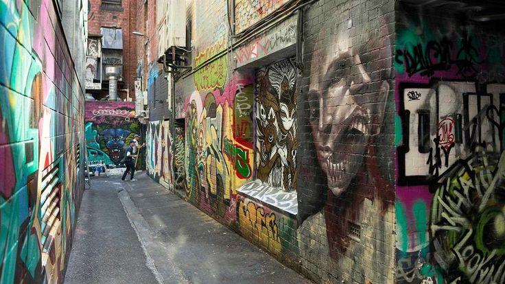 Croft Lane, Melbourne, Victoria, Australia. Photo: Robert Blackburn