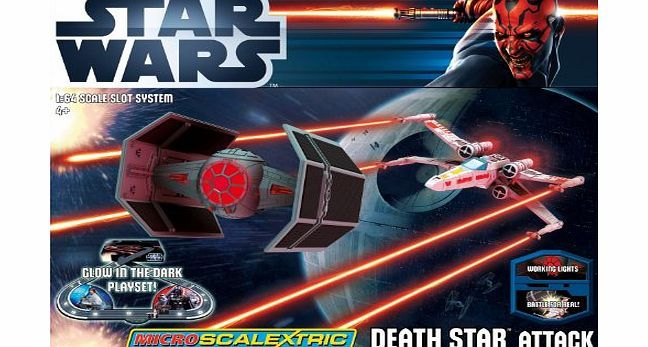 Micro Scalextric G1084 Star Wars Death Star Attack 1:64 Scale Race Set No description (Barcode EAN = 9335864970505). http://www.comparestoreprices.co.uk//micro-scalextric-g1084-star-wars-death-star-attack-164-scale-race-set.asp