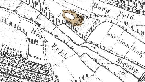 Die Burgstelle Der Gernandesburg Befindet Sich Im Stadtteil Burg