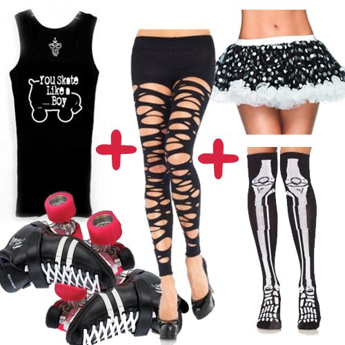 Roller Derby Clothes I WANT!!