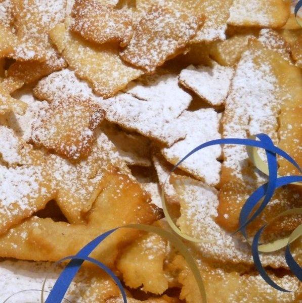 Crostoli - typical Carnival sweet