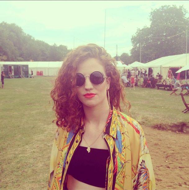 Jess Glynne at Lovebox 2014