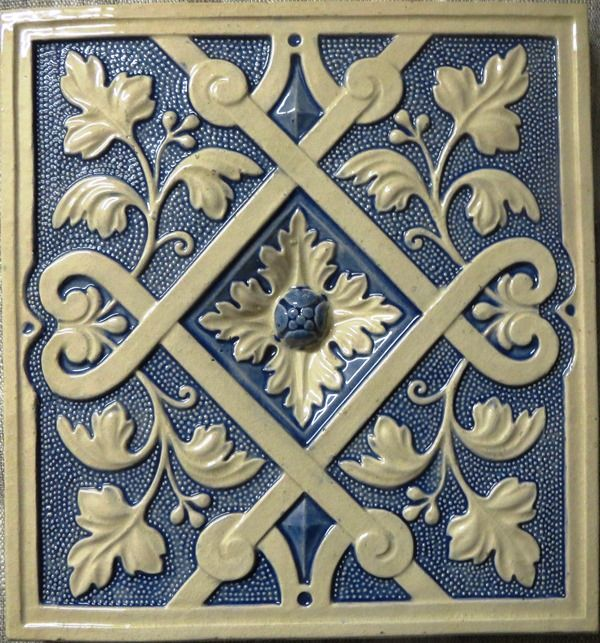 Russian Stove Tile