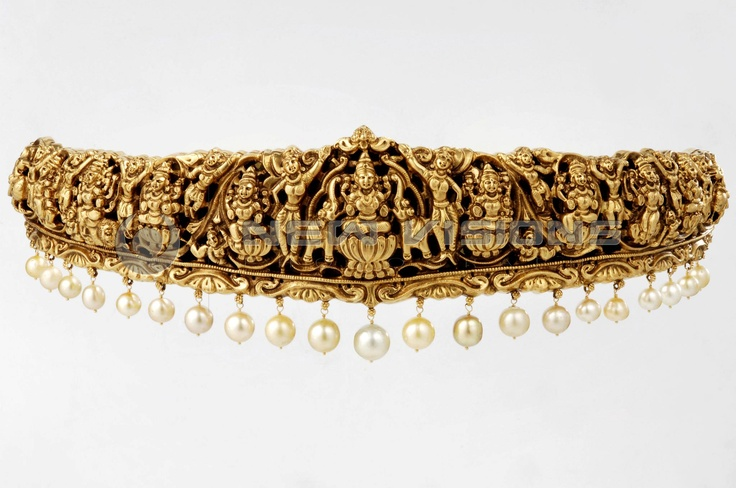 Vaddanam-traditional andhra jewelry