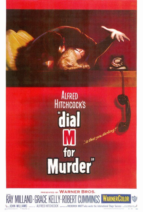 Movie Poster Shop Presents 100 Best Selling Movie Posters - Dial M For Murder (1954)