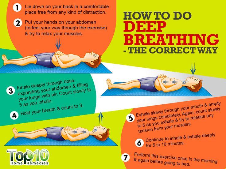 deeep breathing technique