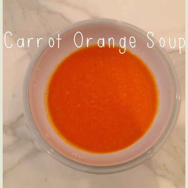 Carrot Orange Soup and Multigrain Pretzel Roll Recipe :: YummyMummyClub.ca