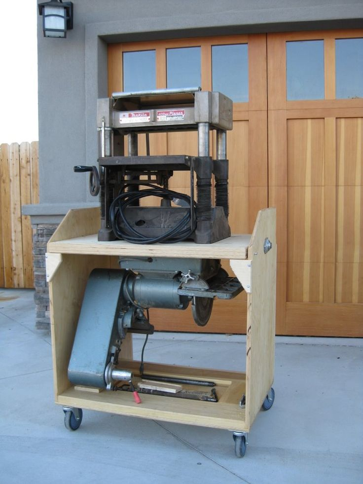 Portable Planer Stand Woodworking Plans Woodworking