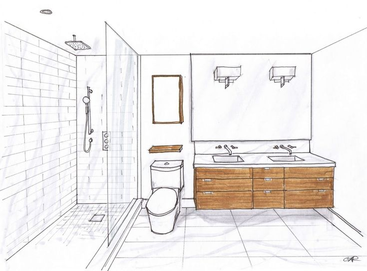 image result for layout of an 8x6 bathroom  small