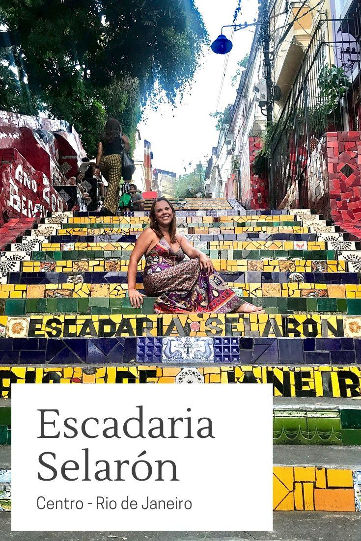 A Escadaria Selaron E Uma Obra Arquitetonica Localizada Entre Os