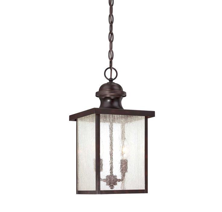 Two Light Hanging Exterior Lantern