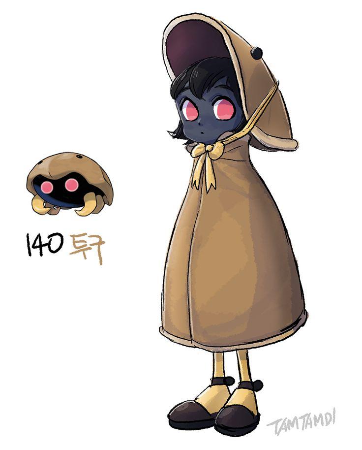 140.Kabuto - 141. Kabutops