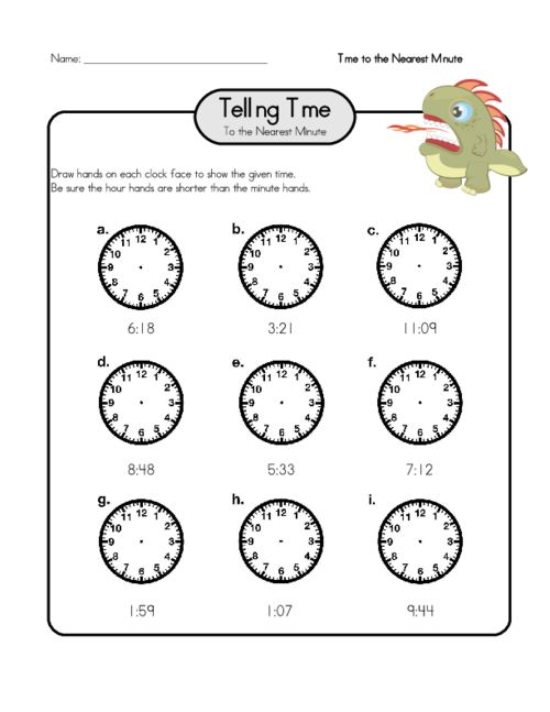 64 best Telling Time Worksheets images on Pinterest Telling time - time worksheets
