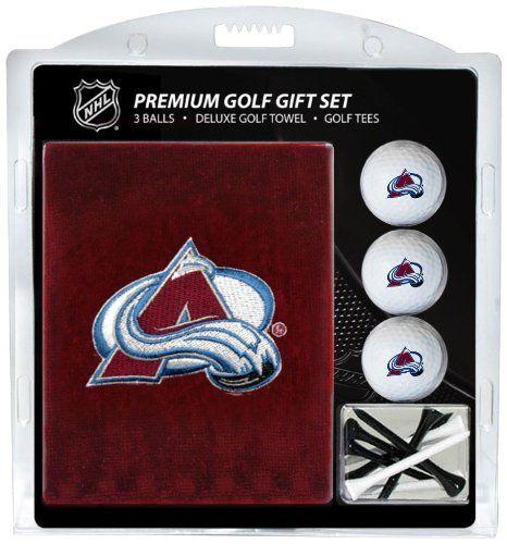 Colorado Avalanche Golf Gift Set