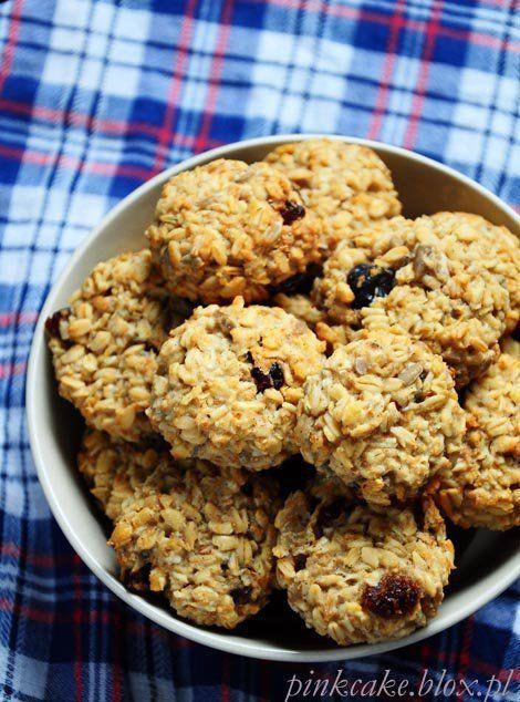 Ciasteczka owsiane - bez jajek, mąki, mleka i cukru!