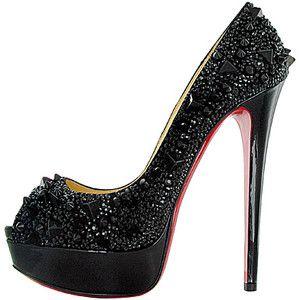 Christian Louboutin: Red Bottoms, Fashion, Style, Christian Louboutin Shoes, Pumps, Black Heels, High Heels, Shoes Shoes, Christianlouboutin