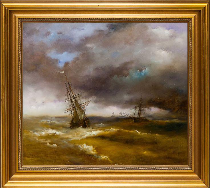 #живопись #Painting #seascape #морской #пейзаж #Art