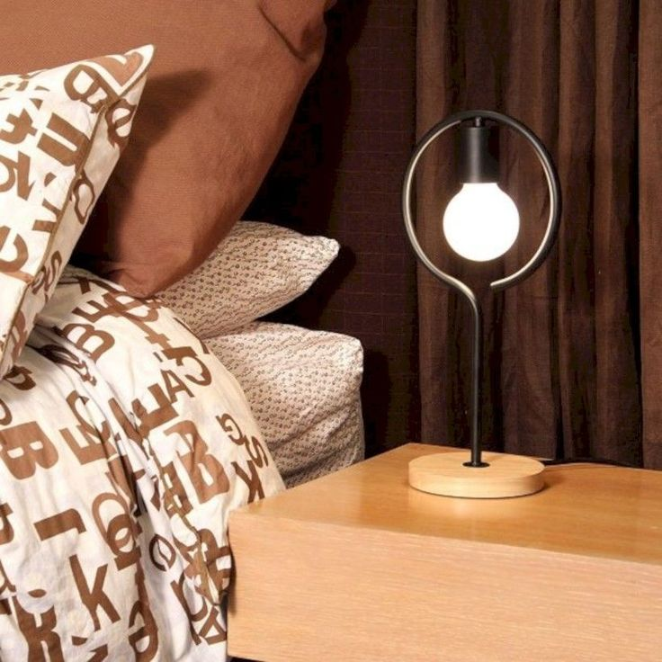 42 Cool And Unique Bedside Table Lamps Ideas