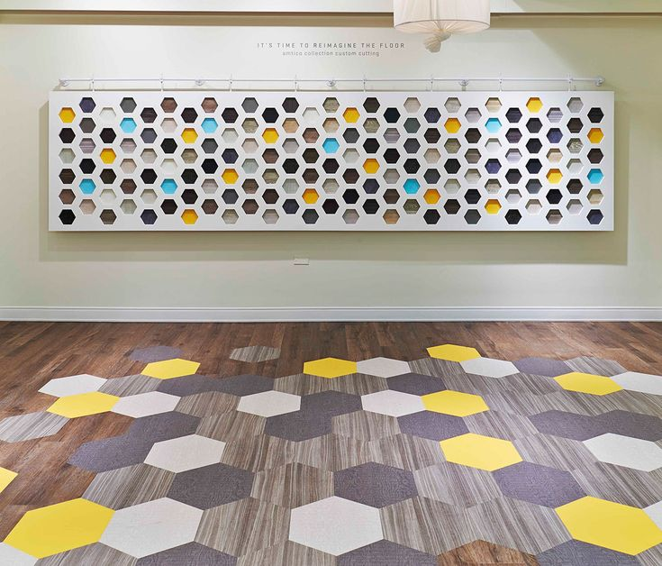 The Amtico Collection LVT Hexagons NeoCon 2013