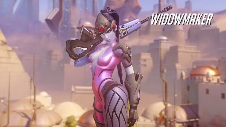 Overwatch Widowmaker Gameplay Trailer