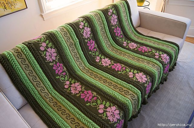 Тунисское вязание для начинающих - самое полное пособие   Вязание спицами…