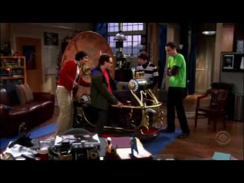 The big bang theory season 1 episode about the time machine, just skip ahead to the 2:50 mark. It's why I fell in love with this show. Tears are streaming down my face.