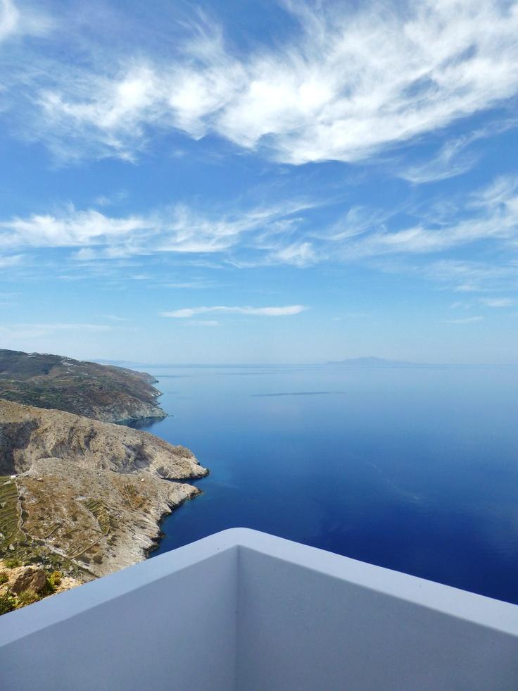 Your balcony @ Anemomilos Folegandros. Come fly away!