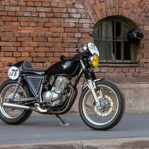 motomood: Honda CB400SS cafe racer motomood: Honda CB400SS cafe racer