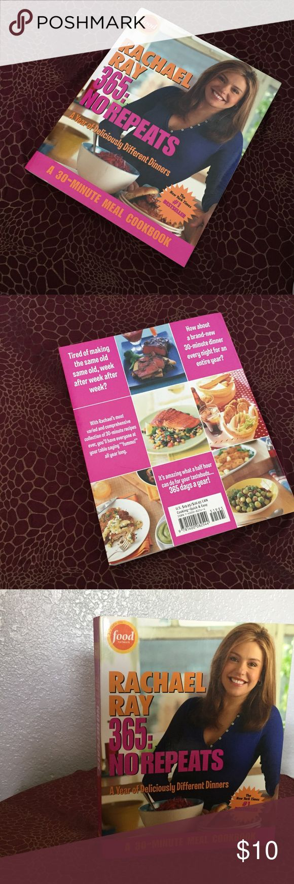 OBO // Rachel Ray cook book 🌶 Brand new cook book! Simple recipes to be able to cook everyday! Other