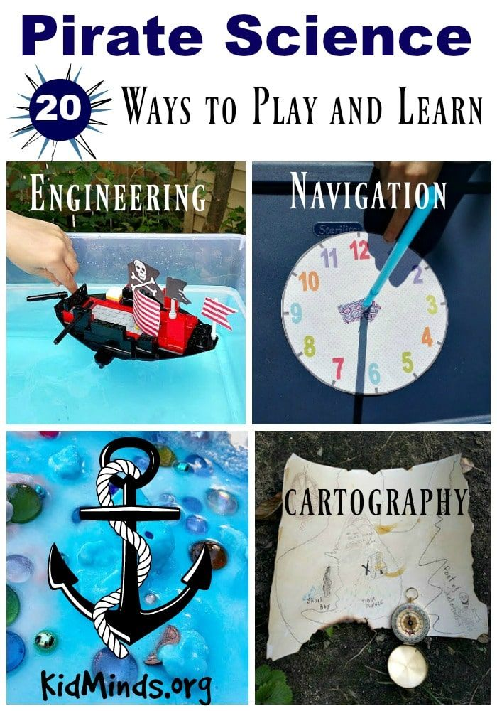 Pirate Science – 20 ways to play and learn