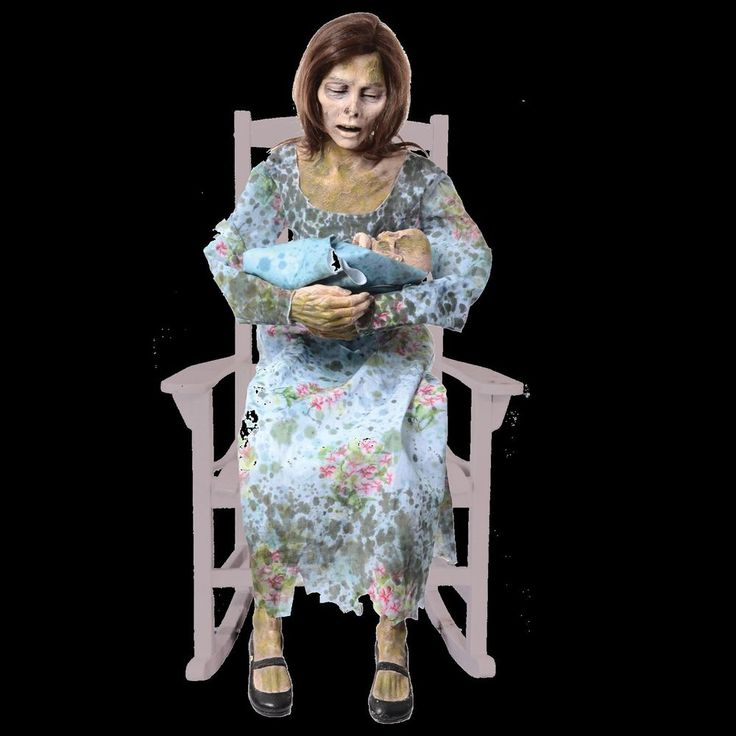 STINKY MOMMY - Animated Halloween Prop & Decoration - The Walking Dead…