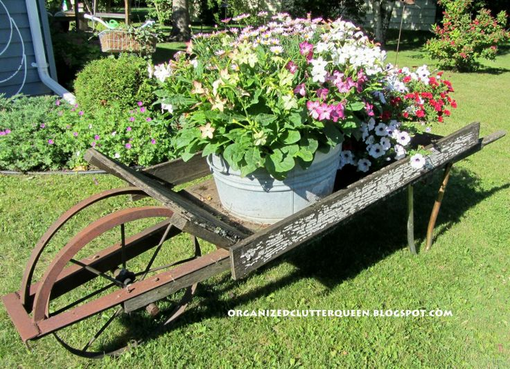 The Chippy Wheelbarrow Is Back For Another Gardening Season! Pumpkin Wagon