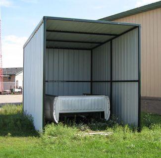 Hay Or Shavings Storage Building 10 Ft Wide X 14 Feet Deep
