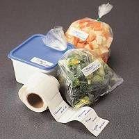 Rouleau d'étiquettes pour congélateur. Enfin des étiquettes qui tiennent dans le congélateur